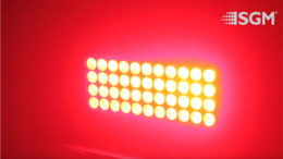 Kalibrierter LED Scheinwerfer von SGM (Foto: SGM)