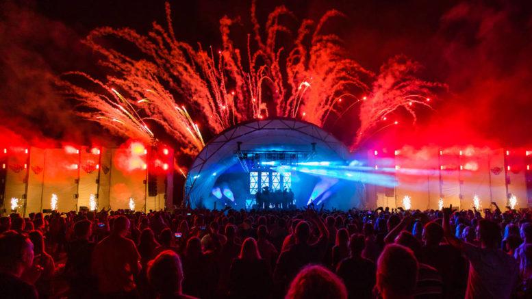 Technik von AVM Veranstaltungstechnik auf dem TabluaRaaza Festival, Oldenburg (Foto: Thomas Weber)