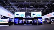 Der Stand von TCL Europe auf der IFA 2019 in Berlin.