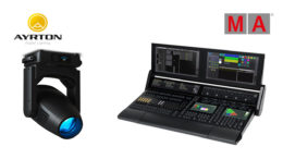 Ayrton Mistral-TC und grandMA3 light für die Concept Solutions Veranstaltungstechnik GmbH.
