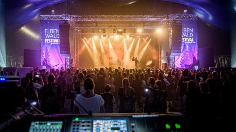 RCF Audio-Equipment auf dem Elbenwald Festival(Foto: Marcus Scheuermann)