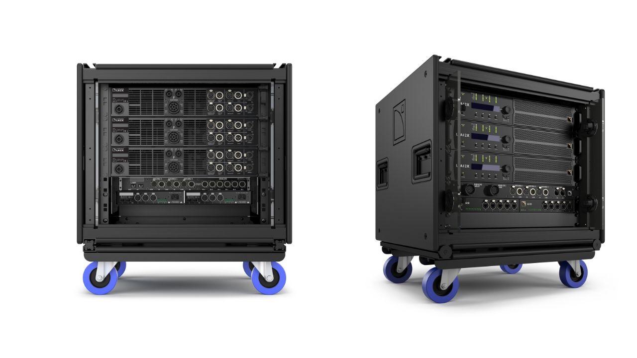 L-Acoustics präsentiert das LA-RAK II AVB auf der NAMM 2020