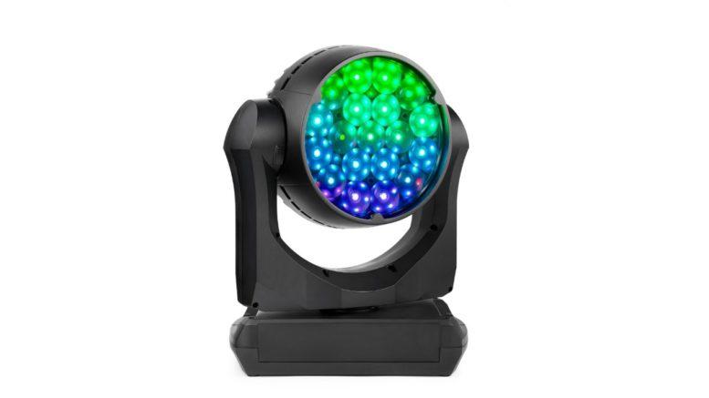 Als weltweit erstes LED-Washlight bietet der MAC Aura PXL eine individuelle Pixel-Steuerung, die sogar die Ansteuerung jeder einzelnen der 141 Aura Backlight-LEDs erlaubt