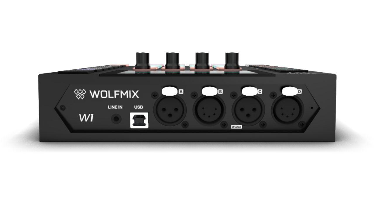Wolfmix-W1-Anschlüsse