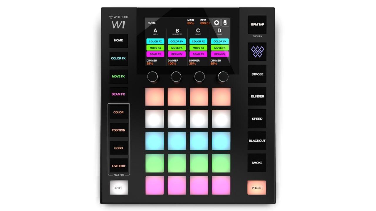 Wolfmix-W1-Draufsicht